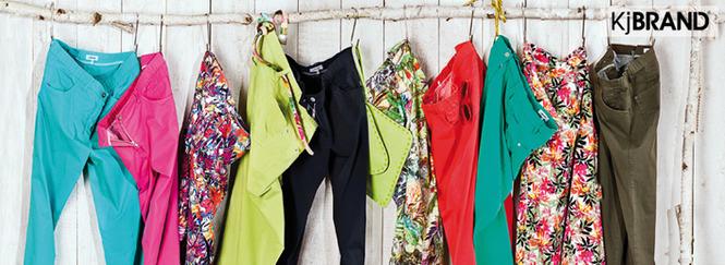 компания KjBRAND является ведущей в производстве модной женской одежды большого размера