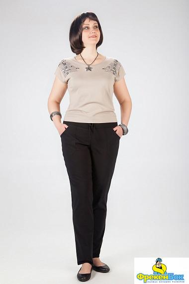 Недорогие женские брюки больших размеров доставка